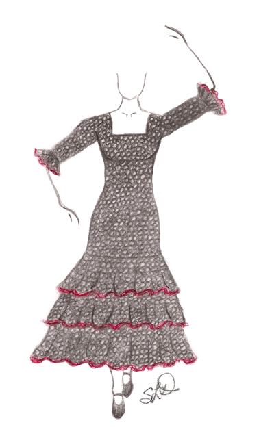 """flamenco dress 2013"" ~ sld"