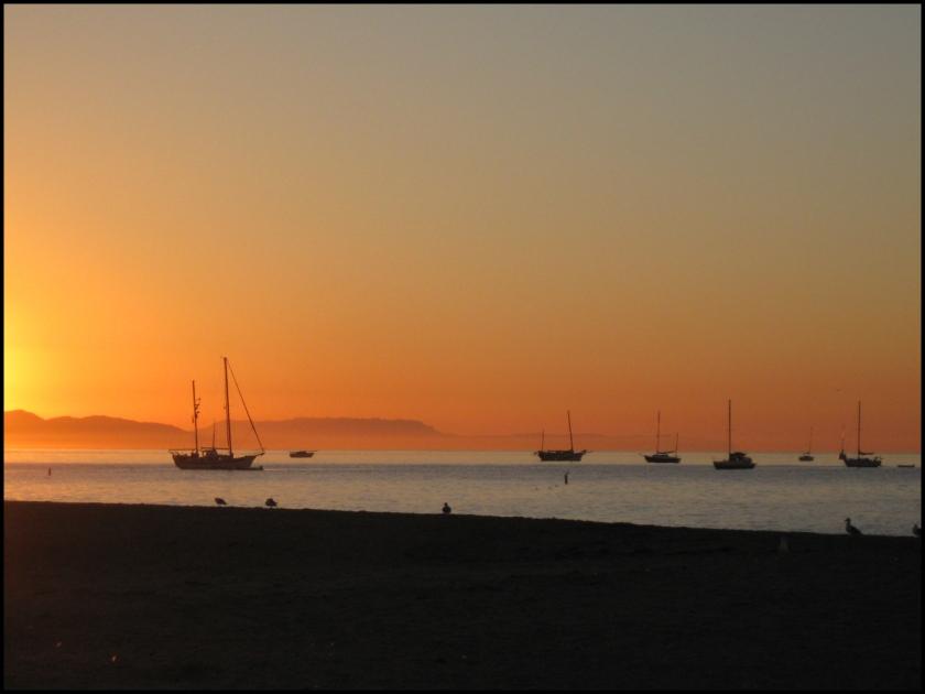 """""""sunrise in santa barbara"""" ~ sld"""