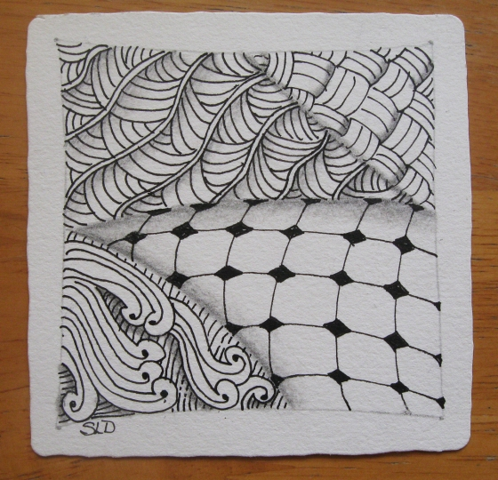 zentangle-first tile by sld-1200