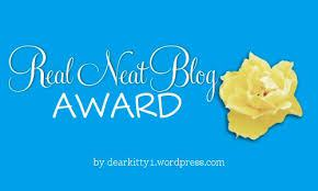 Real Neat Blog Award logo
