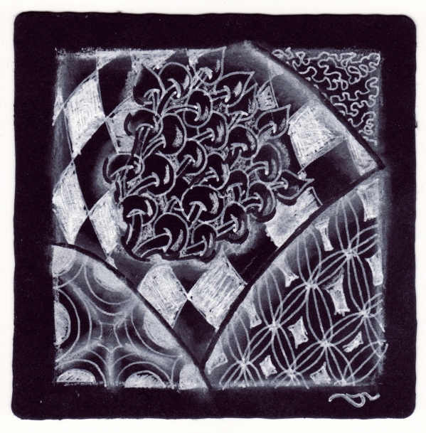 zentangle on black1 by sld