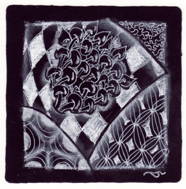 zentangle on black1 by sld