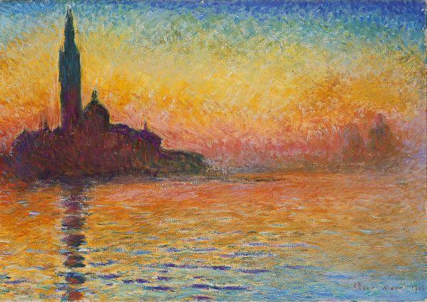 Claude_Monet,_San Giorgio Maggiore at Dusk 1908