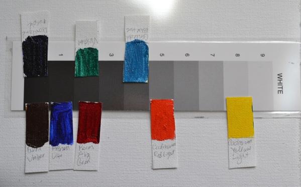 tube colours values