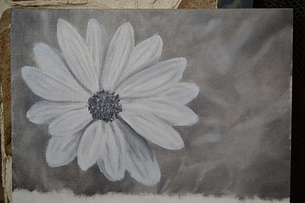 Daisy monochrome 052216